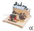 el motor de vapor modelo de fábrica