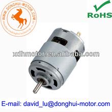 Massager machine motors RS-755SHV,9.6v pm dc motor,brush dc motor drive