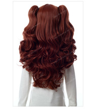 Brown pony-tail hairpiece Hair wigs for black men