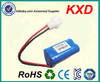 small rechargeable 11.1v li-ion battery pack 2800mah OEM msds