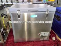 80L 220V COMPRESSOR SOLAR POWERED compressors refrigerator 12v electric car coolers
