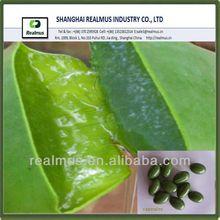 unique health care product vigor green aloe vera soft capsule