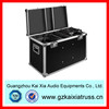New large heavy duty black aluminum flight case