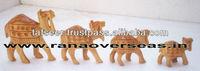 Wooden Carved Camel