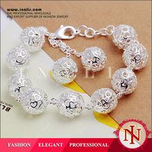 Elegant silver plated handmade bracelet ideas H088