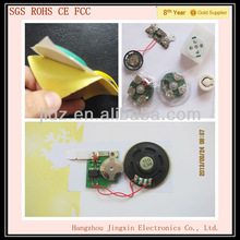 RoHs SGS cob musical chip for card toys