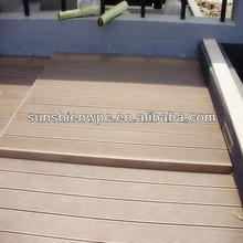 sunshien WPC decking for outdoor pavements,veranda