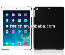 Newly plastic shell case for ipad air protective back cover