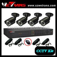 WETRANS CCTV KIT-5304B2M3 cctv all in one 4ch dvr kit