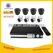8 channel 420tvl cctv dvr camera / image sensor dvr h 264