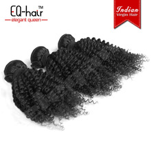 virgin indian deep curly curl hair, 100% human hair, 0.8g european remy hair extensions