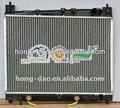 alto desempenho pa66 gf30 radiador para o echo yaris kapall em