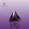Triangle purple rough stone amethyst rough