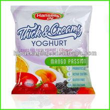 Plastic packaging bag for dry fruit