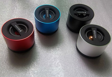 Mini Wireless Portable Bluetooth Speaker, Calls Handsfree Function, Support TF Card, Black silver red blue
