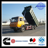 Soil or sand or stone or coal transportation used truck 10 tires 20 ton tipper truck