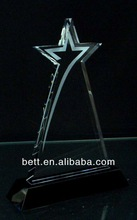 Hot sales high quality cheap Basketball Crystal Trophy