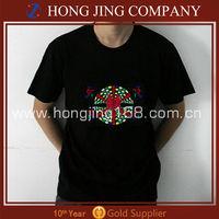 light up music t-shirts