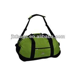 China wholesale nylon green travel duffel bags manufacturer