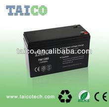 Sealed Lead Acid maintenance free battery 12v battery UPS and EPS battey 12v 8ah 20hr battery