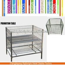 folding promotion cage