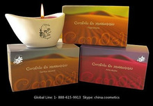 Natural Oil Massage Candle in Ceramic Container