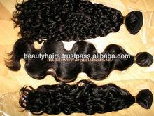 Hot Beauty Natural, Unprocessed Wavy Hair