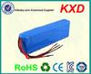 replacement lithium 12v battery pack 24v for portable fridge