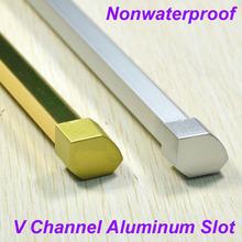 New Design V Slot Golden Al Alloy&Caps