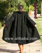 fur coat, size XXL, Astrakhan, Karakul, Persian Lamb