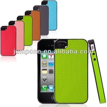 Knitting pattern hard stick back cover Case For iphone 4 4s 4g