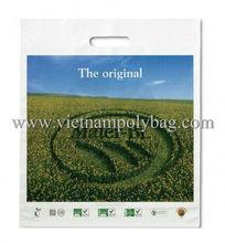 photo printing die cut carrier bag