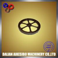 Customized sand casting flywheel&sand casting chain wheel