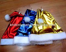 Decorated Crazy Santa Hat, Cheap Funny unique Christmas Santa Hat Manufacturer