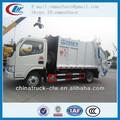 Dongfeng 4m3 de resíduos coletor de caminhão para vendas
