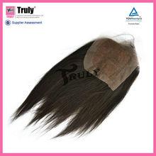 "brazilian virgin hair top closure,natural straight, natural color, 4""x4"",10-20inches"