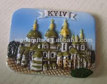 Factory Directly Selling 3D Ceramic Fridge Magnet