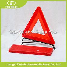reflective traffic logo car warning triangle set kit