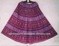 mulheres algodão crinckledimpresso saias em tecidos de algodão voile falda algodan estampasindianas etnia africano floral jai cabo de vassoura