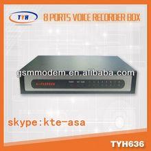 8 line voice recorder / sip server voip / voice recording