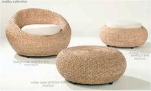 Water hyacinth chair set