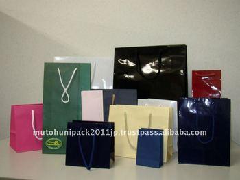 Luxury handmade paper bags photo album for wedding
