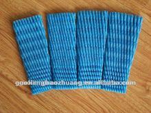 Blue fruit protecting net