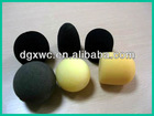 (High quality and factory price )black sponge ball