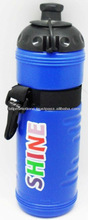 Plastic Drinking Water Bottle with handle for promotions