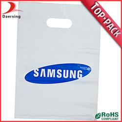Custom plastic bag for iphone 4g