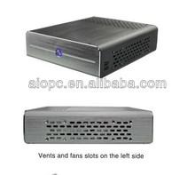 mini computer case pc desktop itx case