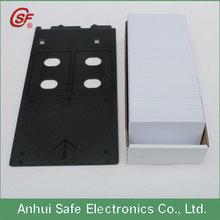 plastic pvc id card tray Canon