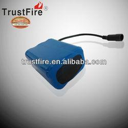 TrustFire 8.4v 6800mah li-ion 18650 battery back for bike light