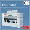 Wood veneer pressure coating machine membrane vacuum press